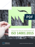 Explanation of ISO 14001 2015 Clauses En