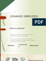 Ushahidi Simplified