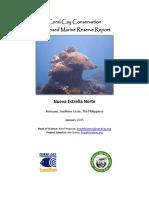 Marine Protected Area Assessment - Neuva Estrella Norte 2015
