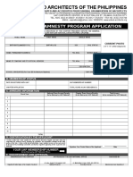 Annex a - UAP General Amnesty Application Form