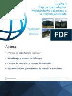 3. Presentación - Bajo Un Mismo Techo_ Mejoramiento Del Acceso a La Vivienda Adecuada y Bien Ubicada