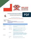 Disability Network Zone Program AIDS 2016 Final Draft June 2016