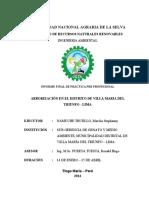 Arborización en El Distrito de Villa Maria Del Triunfo - Lima