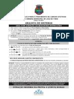 Assistente Técnico Legislativo-Analista de Sistemas