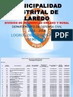 Departamento de Defensa Civil Logros Obtenido Durante Estos Sies Meses