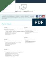 Plan de Estucommunity-manager