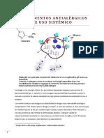 Medicamentos Antialérgicos Sistémicos, Revisión Farmacéutica