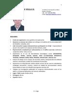 Juan Carlos Vega d Curriculum 2016