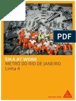 Sika at Work Metro Rio de Janeiro