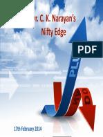 Nifty Edge C K Narayanan