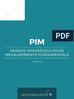PIM Passive Intermodolation Measurements Fundamentals