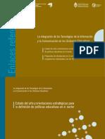 IIPE-UNESCO La Integración de Las TICs en Los Sistemas Educativos Estado Del Arte y Orientaciones Estratégicas