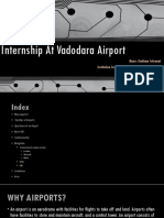 Internship at AAI Baroda