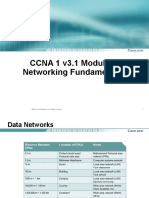 CCNA 1 Mod 2-Networking Fundamentals
