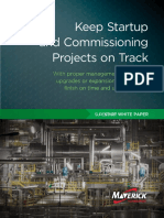 Keep Startup and Commissioning Projects on Track