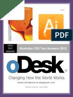 ODesk Illustrator CS3 Test Answers 2012 Www.rafiqbamna.blogspot