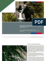 Plan Maestro Parque Nacional Radal Siete Tazas