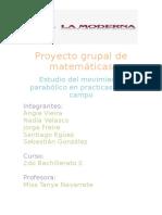 Proyecto Grupal de Matemáticas Nadia