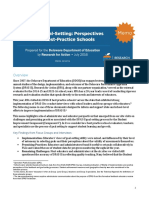 RFA - DDOE Goal Setting Brief July 2016