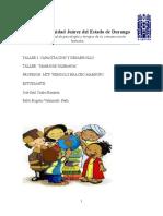 Taller de Capacitacion y Desarrollo Sobre Tolerancia.