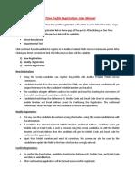 OTPR User Manual
