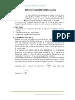 Parametros de Un Motor Monofasico