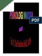 Psikologi Massa [Compatibility Mode]