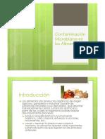 Contaminación Microbiana de Los Alimentos