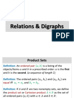 Relations & DIgraphs