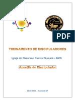Apostila - Treinamento Discipuladores (30!04!2016) Rev 3