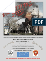 Takin It to the Street Emergency Services Training Conference