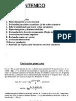 Derivadas de Funciones de Varias Variables 4