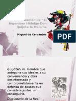 Analisis El Ingenioso Hidalgo Don Quijote La Mancha