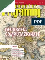 Computer Programming n. 181 - Geografia Computazionale