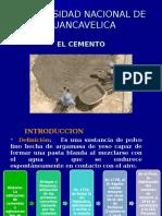 Cement Os curso de tecnologia de materiales
