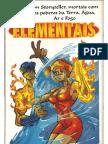 Street Fighter - O Jogo de RPG - Elementais
