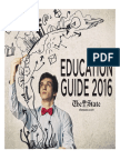 Education Guide, spring 2016