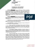 Victim Settlement Agreement