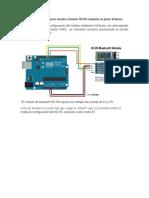 Configurar Módulo BLUETOOTH HC 05
