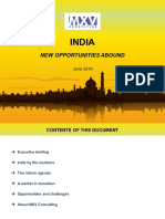 India New Opportunities Abound