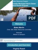 6-29-16 Water Resources Program - Final Massachusetts Municipal Storm Sewer (MS4) General Permit Program