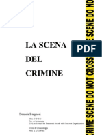 La Scena Del Crimine