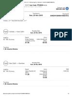 Ticket for CCU - BOM Package Trip - Booking ID _ GOMUPKG365941448031812