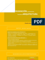 Analisis de Mercado y Progamacion Arquitectonica