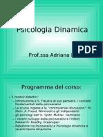 ( Pps) Psicologia Dinamica - Prof. Ssa Adriana Lis (Nascita Psicanalisi)