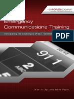 Emergency Communications Training