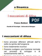 Corso Di Psicologia Dinamica-I Meccanismi Di Autodifesa