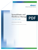 Spreadsheets and Workforce Management - An Odd Couple