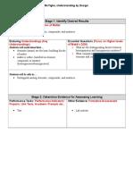 backwards design lesson prop ofmatter