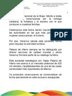 08 03 2011 - Firma del convenio de colaboración entre la Secretaría de Turismo, Cultura y Cinematografía y Viajes Palacio de Hierro